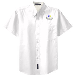 ADULT Short Sleeve Easy Care Shirt, InfinitePossibilities